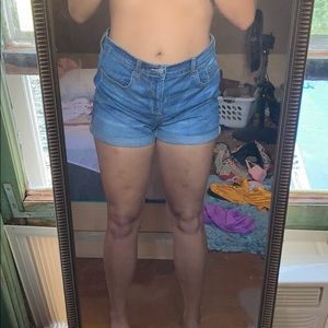 Never Worn High Waisted shorts